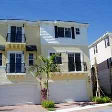 Rental info for 3634 Northwest 5th in the Boca Raton Hills area