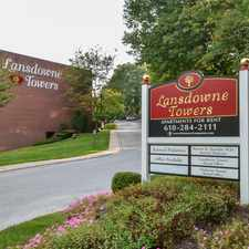 Rental info for Lansdowne Towers Apartments in the Philadelphia area