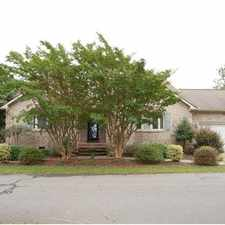 Rental info for CONTEMPORARY LAKEFRONT BRICK HOME