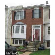 Rental info for Three Level Townhouse in Waldorf