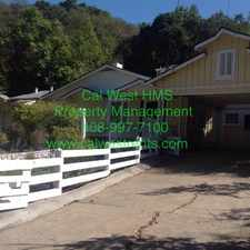 Rental info for 3/2 Bath Beautifully Maintained Home in Almaden Valley