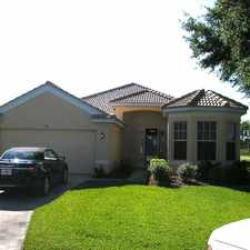 Rental info for Beautiful home available in Aston Greens!