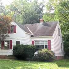 Rental info for Entirely Renovated Cleveland Heights Bungalow - 3 in the South Euclid area