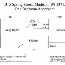 Rental info for 1315 Spring St