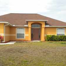 Rental info for 1010 NW 5th Place, Cape Coral