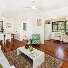 Rental info for COSY HIGHSET QUEENSLANDER WITH LOADS OF CHARM in the Gold Coast area