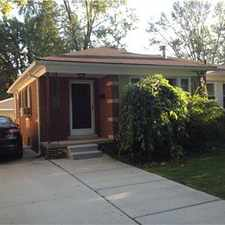 Rental info for Adorable 3 bedroom 2 bath ranch in the Royal Oak area