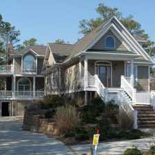 Rental info for Impressive Waterfront Custom Built 4400 SF home in Ocean Pines