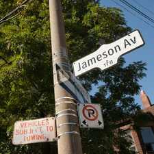 Rental info for Jameson Avenue