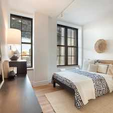 Rental info for Water St & Washington St in the SoHo area