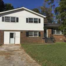 Rental info for Located off of Winchester Drive, this 4 bedroom 2 bath home features...