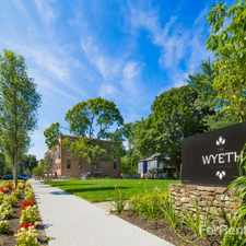 Rental info for The Wyeth