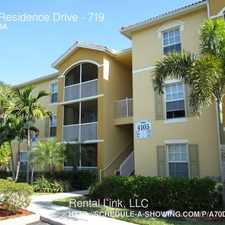 Rental info for 4105 Residence Drive in the Cape Coral area