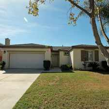 Rental info for Single Story Home at base of Tuscany Hills in Lake Elsinore
