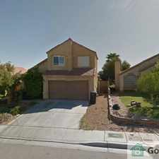Rental info for MUST SEE SPACIOUS HOME in the Las Vegas area
