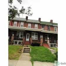 Rental info for Spacious 3BR/ 1BA FOR RENT in West Baltimore. You can't beat the space for this price of $799! in the Winchester area