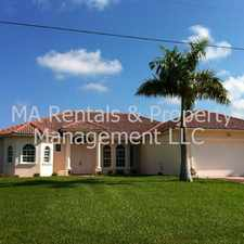 Rental info for 2131 SW 52nd Street in the Cape Coral area