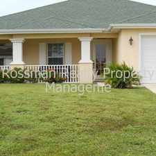 Rental info for 204 NW 4th Avenue in the Cape Coral area