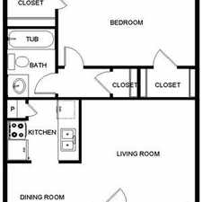 Rental info for One Bedroom In Fort Worth in the Fort Worth area