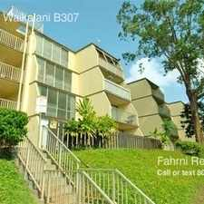Rental info for 95-2052 Waikalani B307