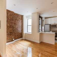 Rental info for Hudson St & Bank St in the Greenwich Village area