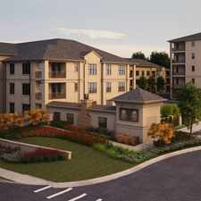 Rental info for The Residences at Chastain in the East Chastain Park area
