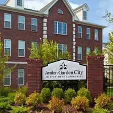 Rental info for Avalon Garden City