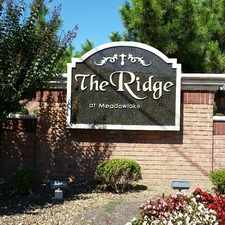 Rental info for The Ridge at Meadowlake