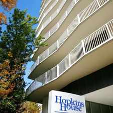 Rental info for Hopkins House Apartments in the Guilford area