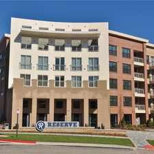 Rental info for Reserve at the Ballpark