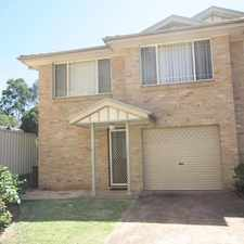 Rental info for Lovely Family Home in the Narellan area