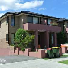 Rental info for IMMACULATE 2 STOREY TOWNHOUSE