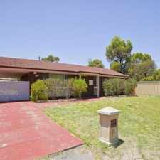 Rental info for RENOVATED 3x1 in the Padbury area