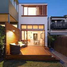 Rental info for DEPOSIT TAKEN, ANY INSPECTIONS CANCELLED!! Architecturally designed home, LUG, walk to parks & CBD transport