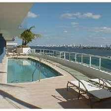 Rental info for 1/1 on Biscayne Bay Heart of Design District in the Miami area