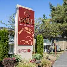Rental info for Lakeside Apartments in the Mountlake Terrace area