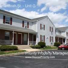 Rental info for 1057 Shenandoah St.