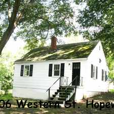 Rental info for 2406 Western Street