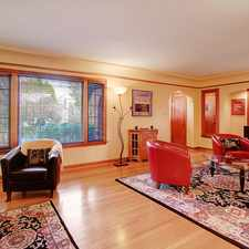 Rental info for Ravenna Large Gracious Remodeled Tudor - Absolutely Perfect! 4 BR 2.5 BTH