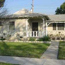 Rental info for 1632 North Pepper Street in the Los Angeles area