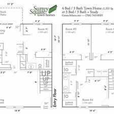 Rental info for Surrey Square Townhomes