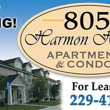 Rental info for 805 Harmon Heights