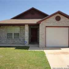 Rental info for Great Home Ready For Move-in in the San Antonio area