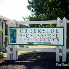 Rental info for Creekside Square