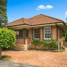 Rental info for Large Three Bedroom Home With Study in the Balgowlah area