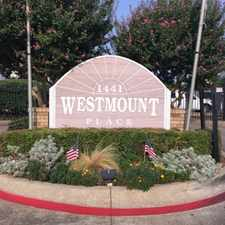 Rental info for Westmount Place in the Dallas area