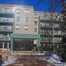 Rental info for 133 Matheson (55+ non-smoking)