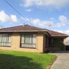 Rental info for Substantial Family Home