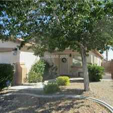 "Rental info for NW ""Pool Home"" in the North Las Vegas area"
