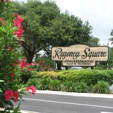 Rental info for Regency Square Apartments in the Corpus Christi area